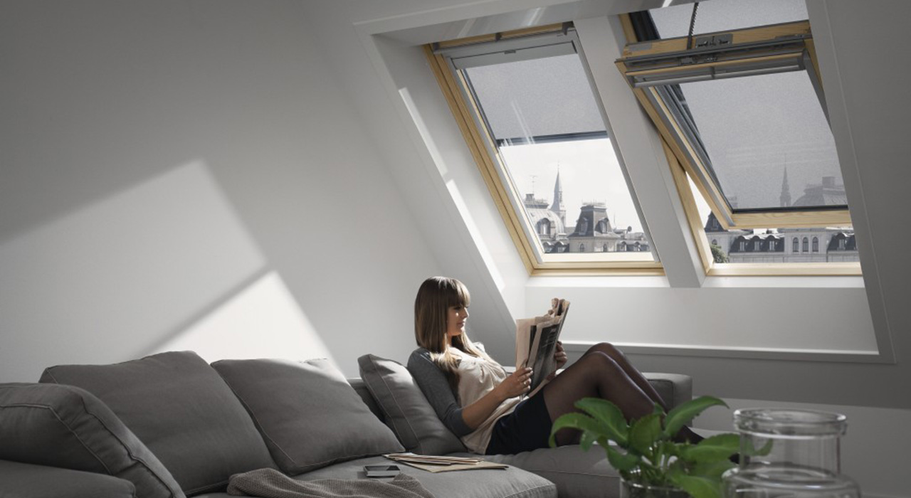 VELUX Living Room Windows Aberdeen, Aberdeenshire & North East Scotland: Inspiration Example 1