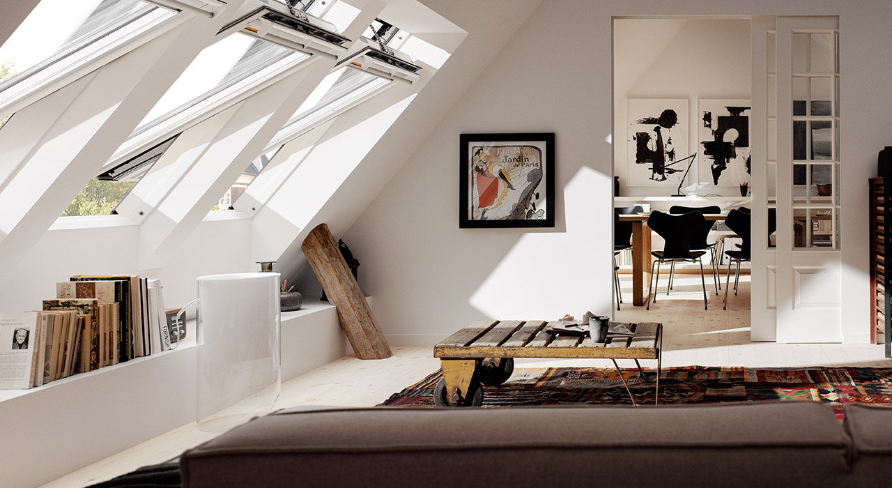 Living Room VELUX Windows Aberdeen, Aberdeenshire & North East Scotland: Inspiration Example 2