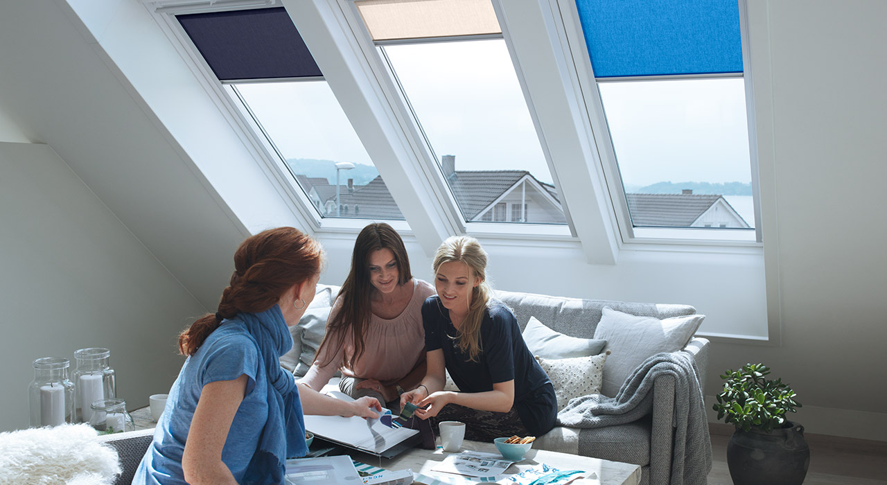 Living Room VELUX Windows Aberdeen, Aberdeenshire & North East Scotland: Inspiration Example 3