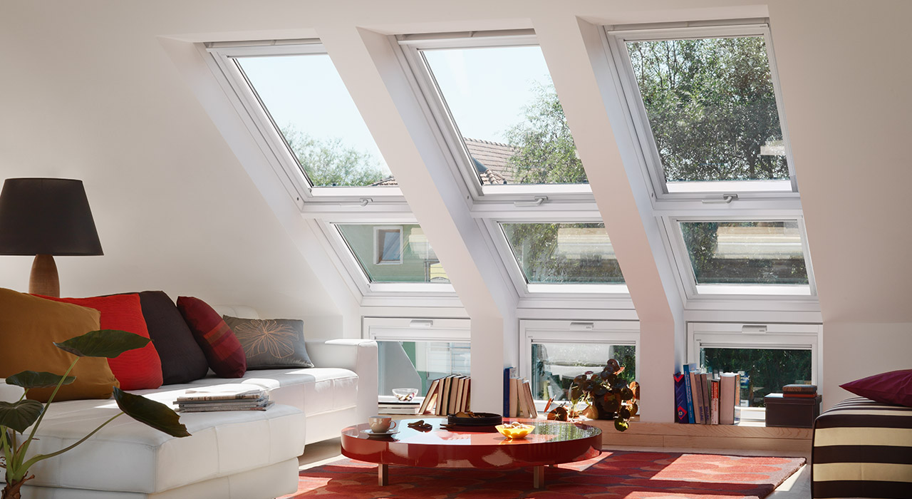 Living Room VELUX Windows Aberdeen, Aberdeenshire & North East Scotland: Inspiration Example 4