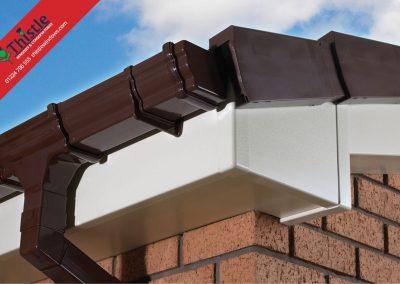 uPVC Roofline, Cladding, Soffits & Fascias Aberdeen & Aberdeenshire: Cream Fascia