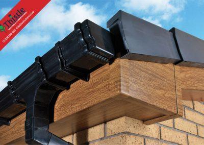 uPVC Roofline, Cladding, Soffits & Fascias Aberdeen & Aberdeenshire: English Oak Fascia