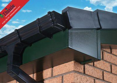 uPVC Roofline, Cladding, Soffits & Fascias Aberdeen & Aberdeenshire: Green Fascia
