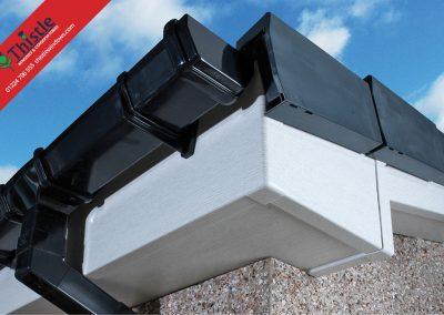 uPVC Roofline, Cladding, Soffits & Fascias Aberdeen & Aberdeenshire: Silver Birch Fascia