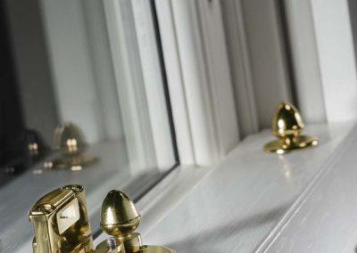 Sash Window Acorn Antique Brass Furniture