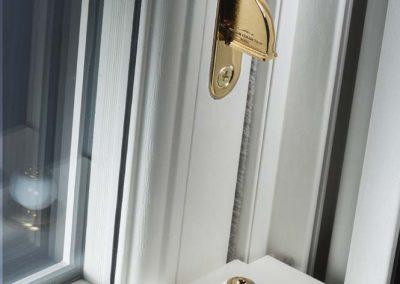 Sash Window Antique Brass Furniture Porcelain Ball Limit Stop Extended