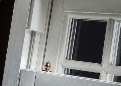 Sash Window Butt Joint Internal View