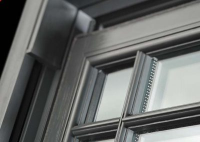 Sash Window Butt Jointed Grey
