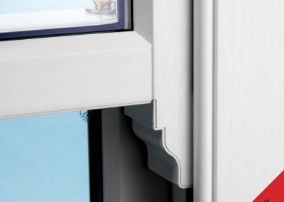 Sash Window Continuous Horn