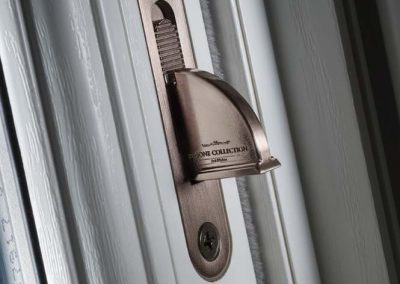 Sash Window Pewter Limit Stop Extended