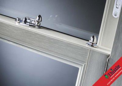 Sash Window Slim Mid Rail with Chrome Acorn Furniture