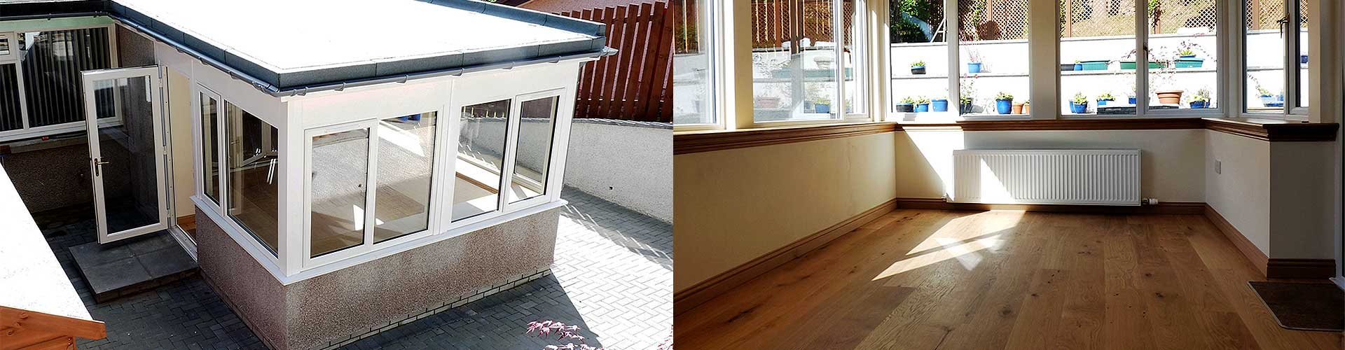 Thistle Home Extensions Aberdeen & Aberdeenshire: Flat Roof Extensions