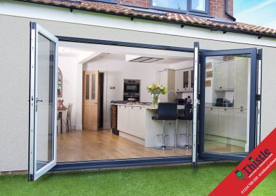 uPVC Bifold Doors Aberdeen, Aberdeenshire & North East Scotland: Installation Example 1