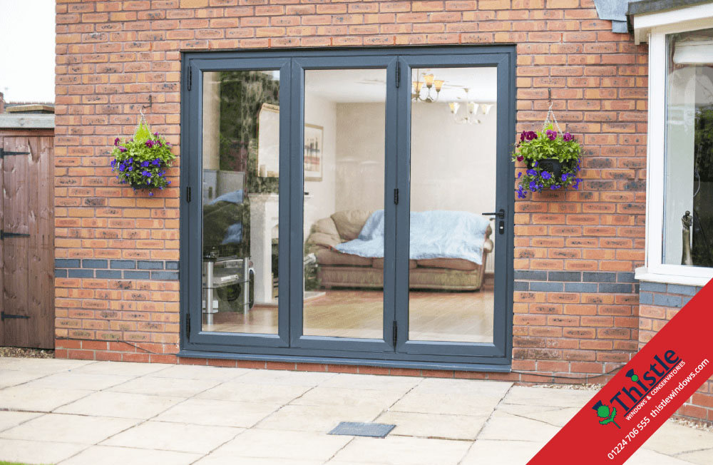 uPVC Bifold Doors Aberdeen & Aberdeenshire »Thistle Windows
