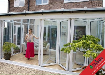 uPVC Bifold Doors Aberdeen, Aberdeenshire & North East Scotland: Installation Example 3