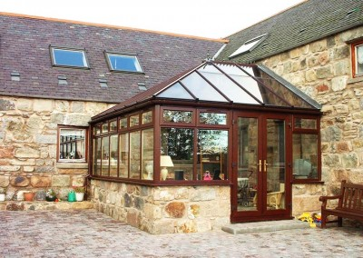 uPVC Conservatories Aberdeen Installation Example 10