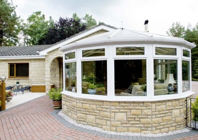 uPVC Conservatories Aberdeen Installation Example 2