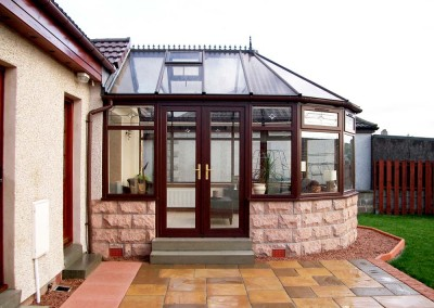 uPVC Conservatories Aberdeen Installation Example 36