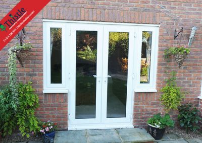 uPVC French Doors Aberdeen, Aberdeenshire & North East Scotland: Installation Example 1