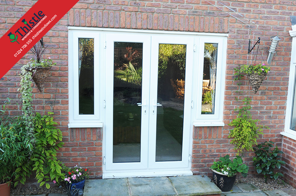 Upvc French Doors Aberdeen Aberdeenshire Thistle Windows