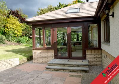 uPVC French Doors Aberdeen, Aberdeenshire & North East Scotland: Installation Example 12
