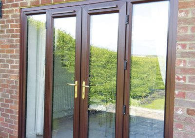 uPVC French Doors Aberdeen, Aberdeenshire & North East Scotland: Installation Example 15