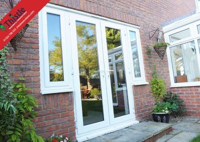 uPVC French Doors Aberdeen, Aberdeenshire & North East Scotland: Installation Example 2
