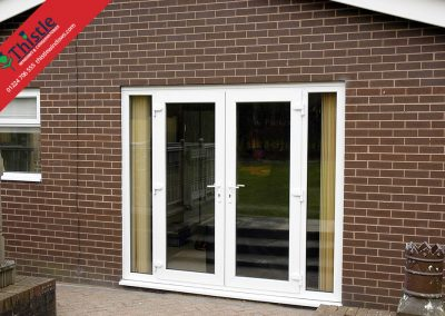 uPVC French Doors Aberdeen, Aberdeenshire & North East Scotland: Installation Example 23