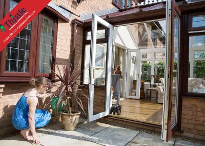 uPVC French Doors Aberdeen, Aberdeenshire & North East Scotland: Installation Example 3