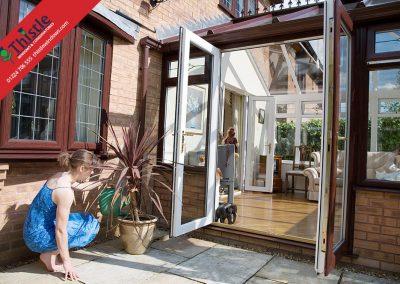 uPVC French Doors Aberdeen, Aberdeenshire & North East Scotland: Installation Example 3