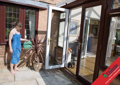 uPVC French Doors Aberdeen, Aberdeenshire & North East Scotland: Installation Example 4