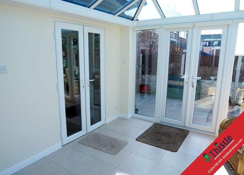 Upvc french doors aberdeen aberdeenshire thistle windows for Upvc french doors made to measure