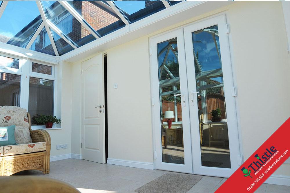 Upvc Doors Scotland : Upvc french doors aberdeen aberdeenshire thistle windows