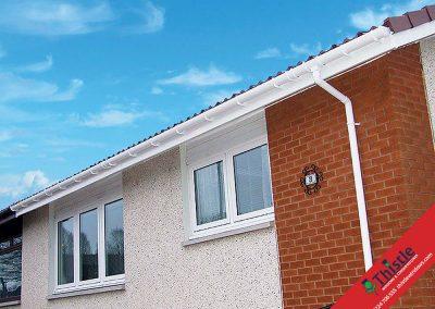 uPVC Roofline, Cladding, Soffits & Fascias Aberdeen, Aberdeenshire & North East Scotland: Installation Example 10