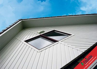 uPVC Roofline, Cladding, Soffits & Fascias Aberdeen, Aberdeenshire & North East Scotland: Installation Example 12