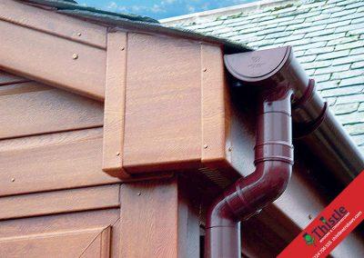 uPVC Roofline, Cladding, Soffits & Fascias Aberdeen, Aberdeenshire & North East Scotland: Installation Example 13
