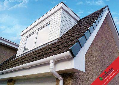 uPVC Roofline, Cladding, Soffits & Fascias Aberdeen, Aberdeenshire & North East Scotland: Installation Example 2