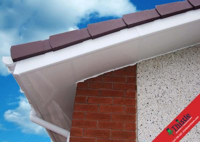 uPVC Roofline, Cladding, Soffits & Fascias Aberdeen, Aberdeenshire & North East Scotland: Installation Example 8