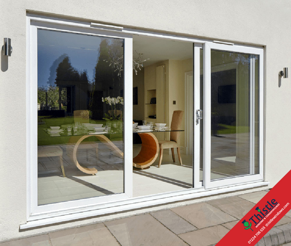 Patio Doors Sliding: UPVC Sliding Patio Doors Aberdeen & Aberdeenshire