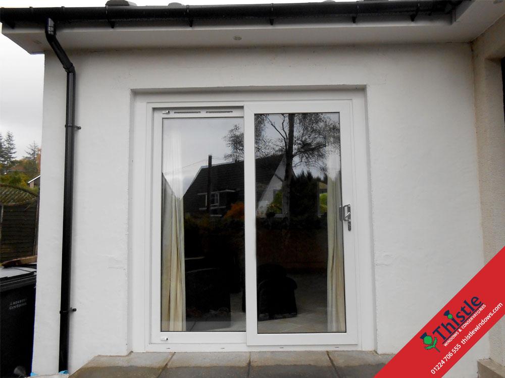 Upvc sliding patio doors aberdeen aberdeenshire thistle windows upvc sliding patio doors aberdeen aberdeenshire north east scotland installation example 6 planetlyrics Images