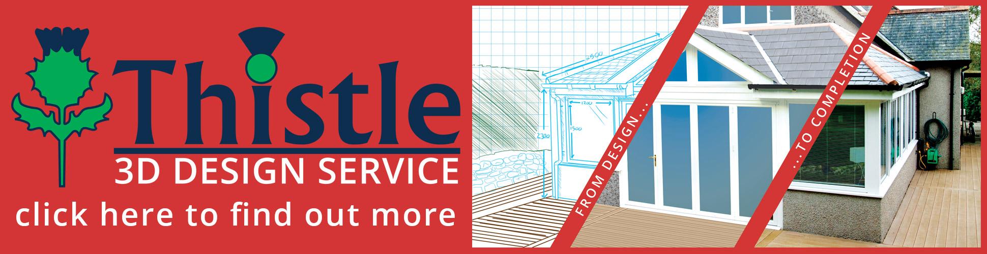 Thistle Home Extension 3D Design Service