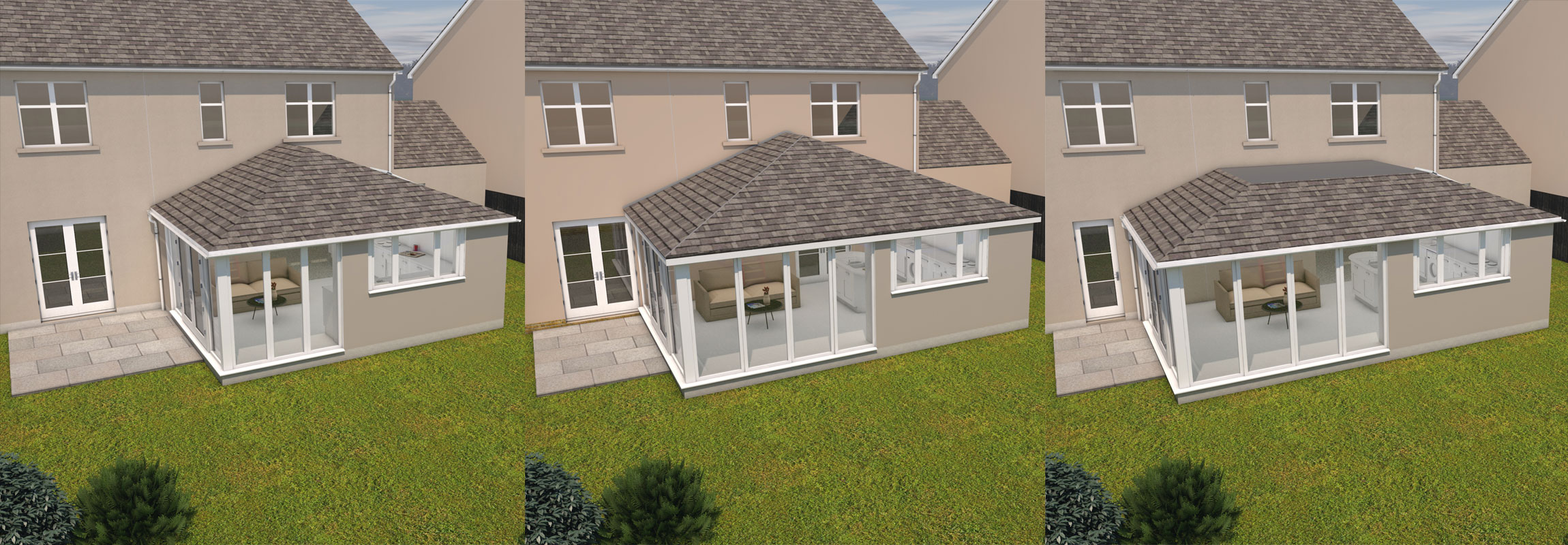 Thistle home extensions north east scotland free 3d for Home plans 3d designs