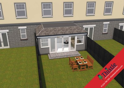 Thistle Home Extensions Aberdeen 3D Design Example 14