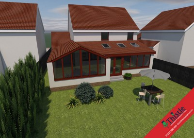 Thistle Home Extensions Aberdeen 3D Design Example 15