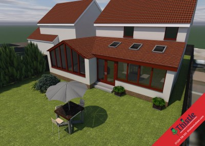 Thistle Home Extensions Aberdeen 3D Design Example 16