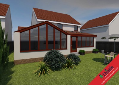 Thistle Home Extensions Aberdeen 3D Design Example 17