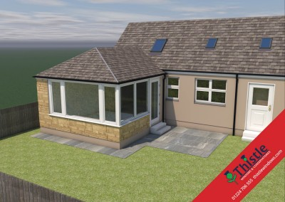 Thistle Home Extensions Aberdeen 3D Design Example 22