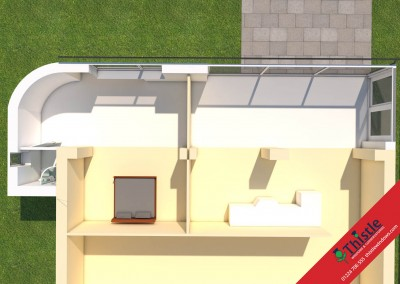 Thistle Home Extensions Aberdeen 3D Design Example 37