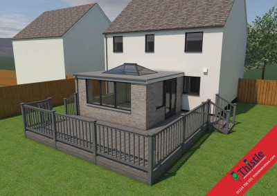 Thistle Home Extensions Aberdeen 3D Design Example 4