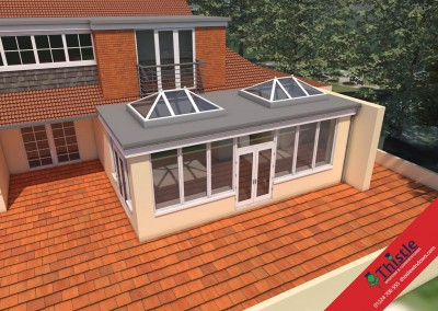 Thistle Home Extensions Aberdeen 3D Design Example 42